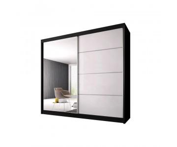 Zweefdeurkast  K006 Zwart